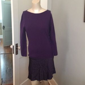 Burberry London  made in Italy knit combo dress